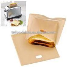 Anti-oil многоразовый pasrty мешок PTFE тостер мешок для гриля сыр бутерброды FDA посудомоечная машина сейф