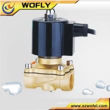 306 Válvula solenóide de água de aço inoxidável 24v