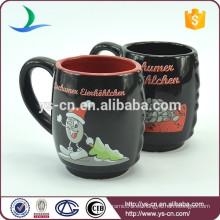 YScc0027 Fábrica de cerámica tazas de té de Navidad