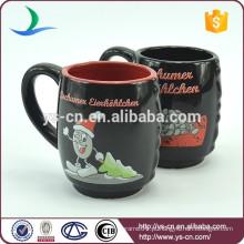 YScc0027 Copos cerâmicos do chá do Natal da fábrica