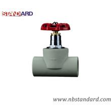 PPR-Ventil mit Messingkugel und S. S-Rad