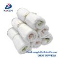 KL-2017 hot sale natural bamboo fiber face towel terry baby washcloth/dish towels
