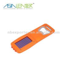 Flaschenöffner Solar wiederaufladbare Taschenlampe