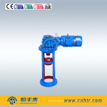Reductor de mezclador de bisel helicoidal de la serie HK con alta densidad de potencia