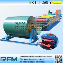 Double layer steel roll forming machine for roof tile