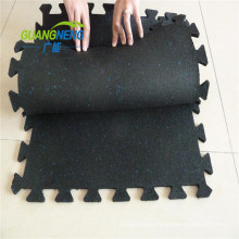 Manufacture Sound Insolation Gym SBR Crossfit Rubber Flooring