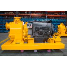 HF tenaga Diesel Pompa air Skid-Mounted