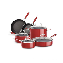 Aluminum Cookware set With Glass Lid