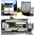 Couleur Optionnelle Land Tranport Wing Opening Truck
