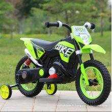 Tour de moto moto scrambler Dirt Bike électrique pour enfants sur motocross