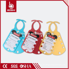 BOSHI BD-K52 Alumínio Lockout Hasp wirh CE RoHS para Industrial Lockout Tagout