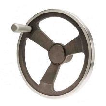 Volant moulé de fer adapté aux besoins du client pour la valve