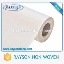 La fuente de la fábrica el 100% polipropileno TNT tela spunboned muestras no tejidas de la tela libre