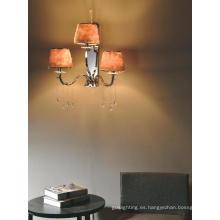 Niza lámparas de pared de acero de carbono Sconces con tres luces (1116W)
