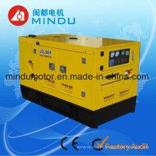 Tipo silencioso do gerador diesel home do uso 50kw Yuchai
