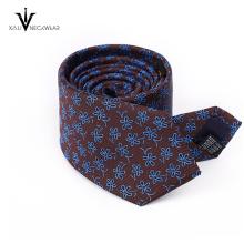 Cravate uniforme faite sur commande de cravate mince de logo imprimé