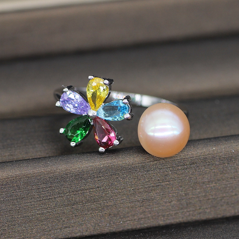 Freshwater Pink Pearl Ring