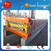Máquina formadora de rolos de aço de camada dupla automática de alta qualidade