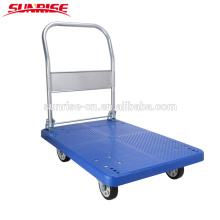 China heavy duty cheap price portable collapsible plastic platform hand truck