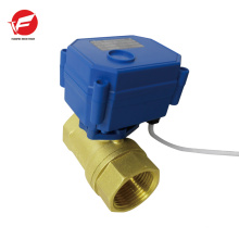 La soupape de commande motorisée à débit d'eau automatique la plus durable