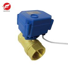 A válvula de controle motorizada de fluxo de água automática mais durável