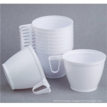 6oz/180ml Plastic Coffee Cup with Handle