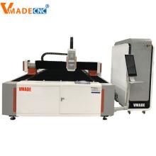 Máquina de corte de metales por láser de fibra 1000W