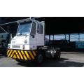 Camion de tracteur de jetée de Cnhtc HOWO Hova 4X2 terminal pour l'application de port