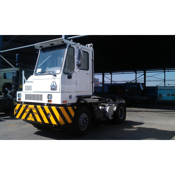 Hafen-Traktor-LKW Cnhtc HOWO Hova 4X2 für Hafen-Anwendung