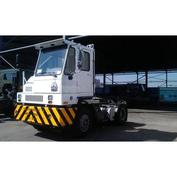 Cnhtc HOWO Hova 4X2 Terminal Pier Tractor Truck para aplicaciones portuarias
