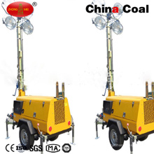 Flame Proof LED Battery Generator Mobile Light Tower