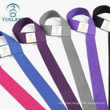 Yugland Factory Custom Logo Adjustable Yoga Belt Yoga Mat Carrying Strap
