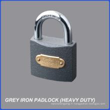 Usine gros pas cher prix robuste cadenas en fer gris