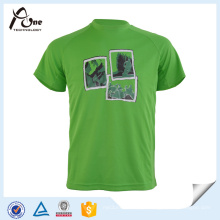 Homem Verde Custom T Shirt Sublimated Sportswear