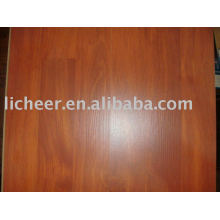 Laminate flooring small embossed surface