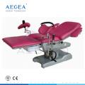 AG-C102D-1 sistema mecánico hidráulico tabla de operación de entrega de ginecología