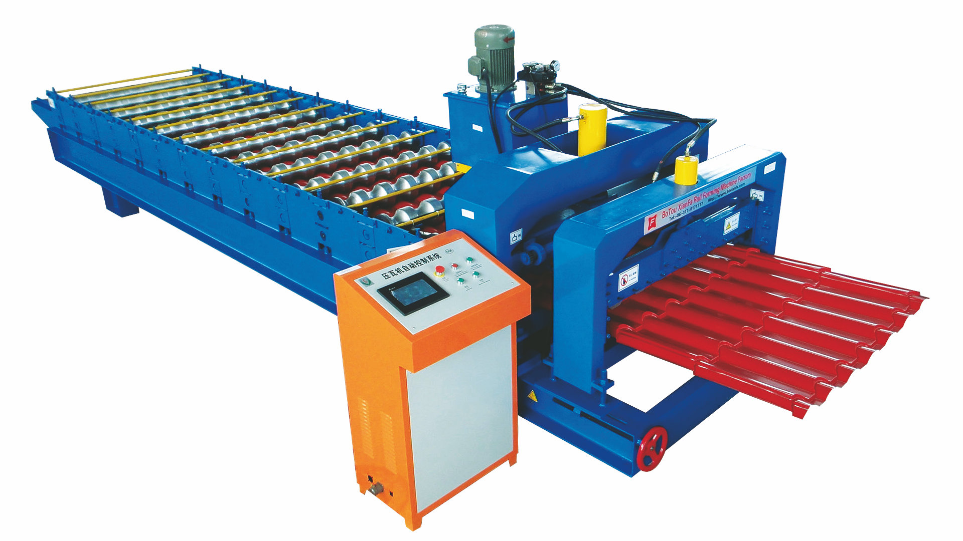 cold steel cold rolling forming machine