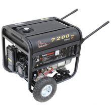 CE Approved 14HP Plastic Fuel Tank Gasoline Generator (WK7200)