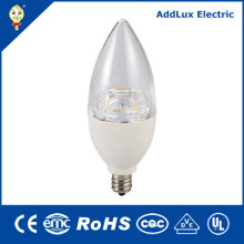 PF0.6 Dimming 4.5W 7W E12 E26 LED Candle Light