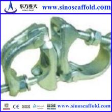 Fabricación con la buena reputación de la abrazadera del andamio Conveniente para el tubo de 48.3m m usado en la construcción Hecho en China