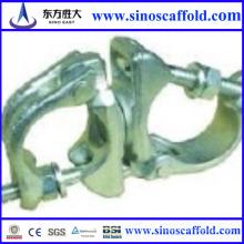 Fabrication avec une bonne réputation de la pince d'échafaudage appropriée pour les tuyaux de 48,3 mm utilisés dans la construction fabriqués en Chine