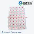 Étiquette d'indicateur de stérilisation EO utilisée pour le médical et l'hôpital