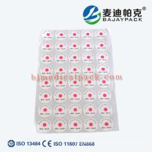 EO-Sterilisations-Indikator-Etikett für medizinische und Krankenhaus verwendet