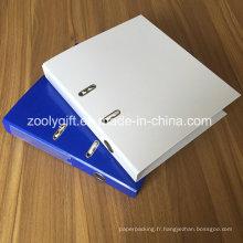 """Carton imprimé A4 1.5 """"Paper Lever Arch File Label Pocket"""
