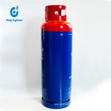 Africa Kenya Market 35kg Cooking Used LPG Cylinders for Sale