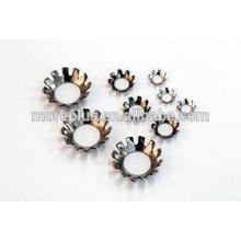 Zinc Finish External / Internal Tooth Lock Washer