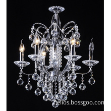 2011 Modern Crystal Candle Chandelier Lighting S8603-6