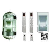 Safe Observation Elevator From Professional Elevator Manufacturer