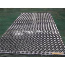 Plaques en aluminium gaufrées 3 BARS