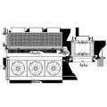 Kühlturm Luft Wasser Maschine